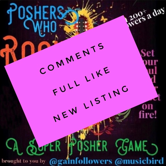 Other - UNLIKE THIS- GO❤️NEW LISTING Poshers Who R🤩CK